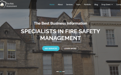 Website for Fire risk assessors.